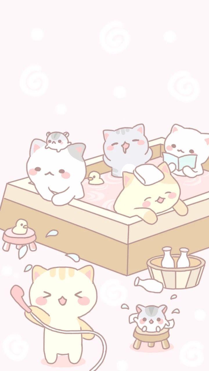 Pin By Love Kitty On Cat Kawaii Cat Drawing Pusheen Cat Pusheen Cute