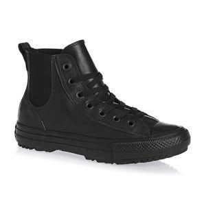 Конверс Обувь Конверс Все Звезды Привет Челси Прозрачный Резиновая Обувь - Черный