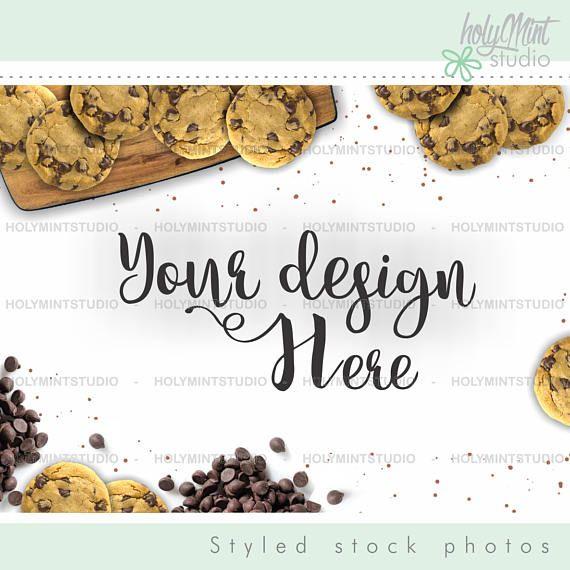 Cookies Mockup by www.HolyMintStudio.Etsy.com