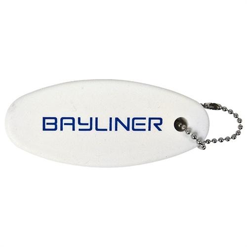 Floating Key Chain - White #bayliner #boating