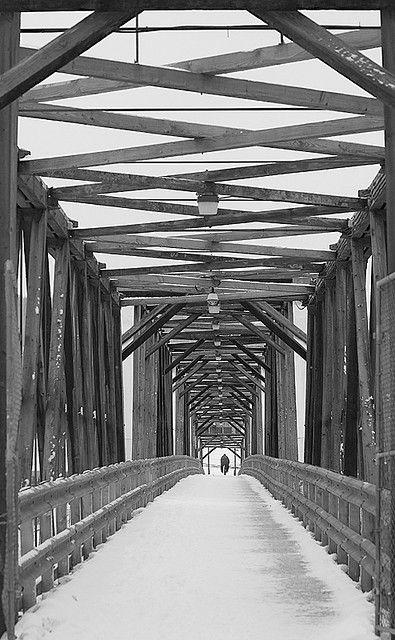 A bridge in Quesnel, BC             Ahhh hello merilee lol!!!