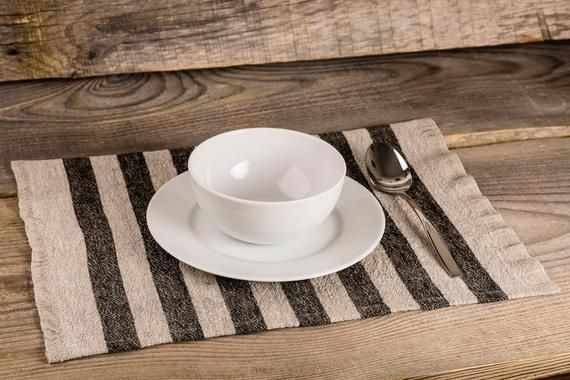 Farmhouse Placemat Placemats Set Of 6 Table Linen