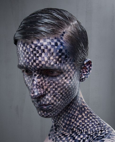 Unique Levi Van Veluw Face Art - Gallery