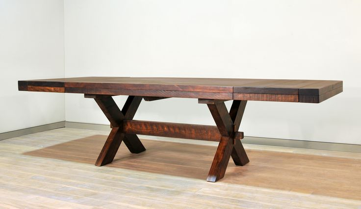 Buxton X Leg table - leaves