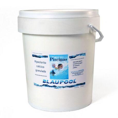 Hipoclorito cálcico envase 25 Kg