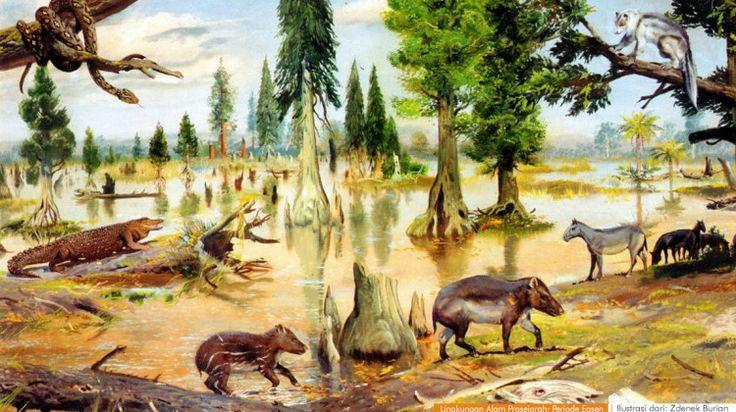 wacananusantara.org   Lingkungan Alam Prasejarah; Periode Eosen