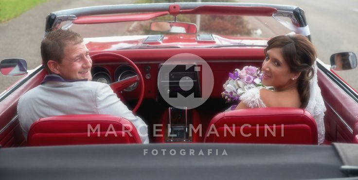 Bride and Groom - Car