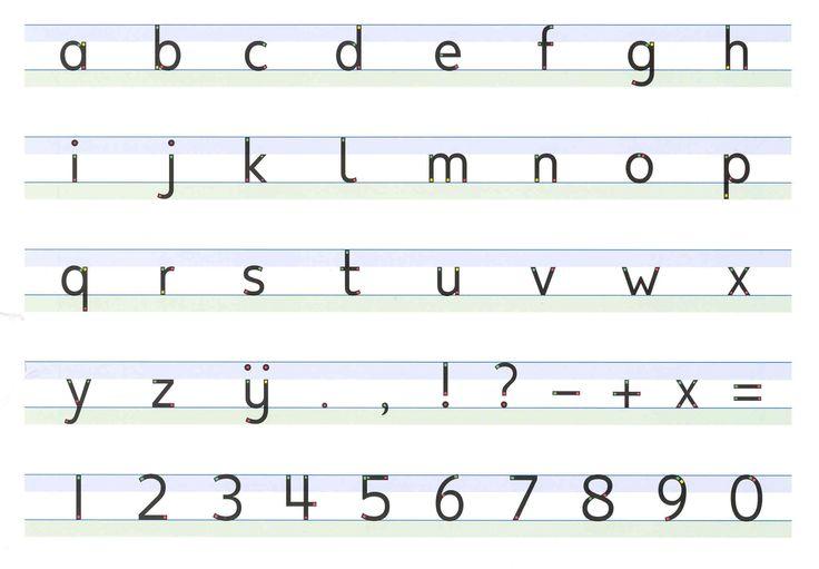 schrijven blokletters stoplicht - Google zoeken