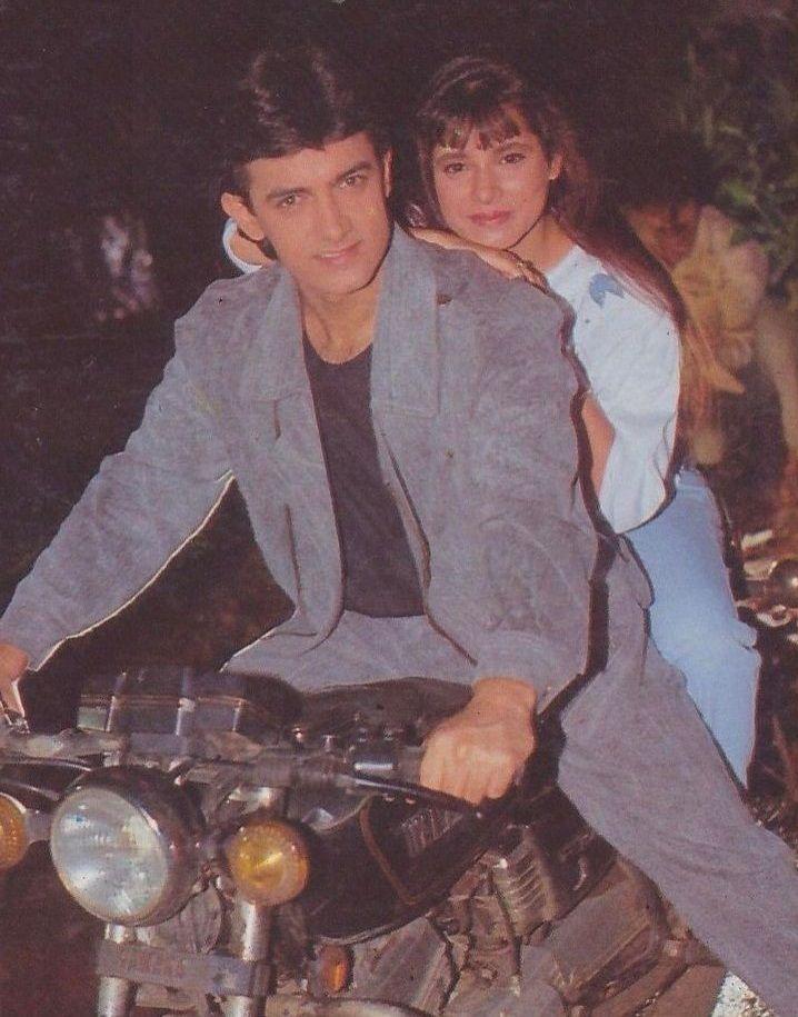 Aamir Khan & Neelam Kothari