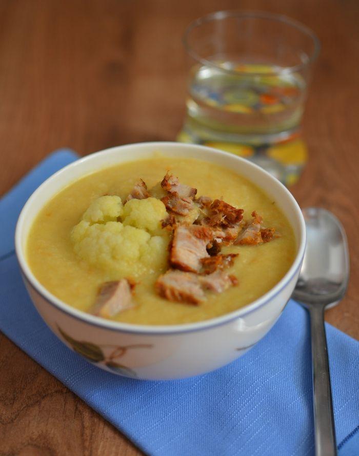Kakukkfüves-zöldséges karfiolfőzelék :: Paleország :: Recepttár