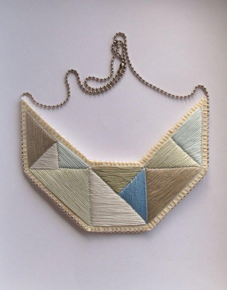 SALE Geometric statement bib necklace by AnAstridEndeavor on Etsy #summeroflovesale starts today!! 24hr deals!! Get um fast!