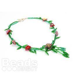 Spring Blossom Necklace by guest designer Bridge Parle