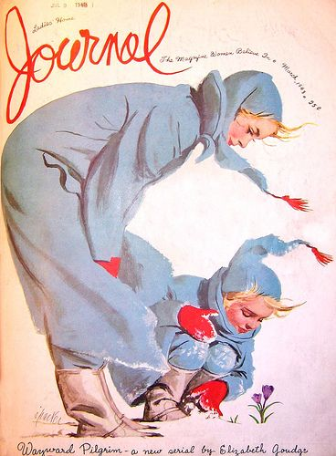 Ladies Home Journal Illustrated by Al Parker March 1948  * Courtesy of Jaleen Grove