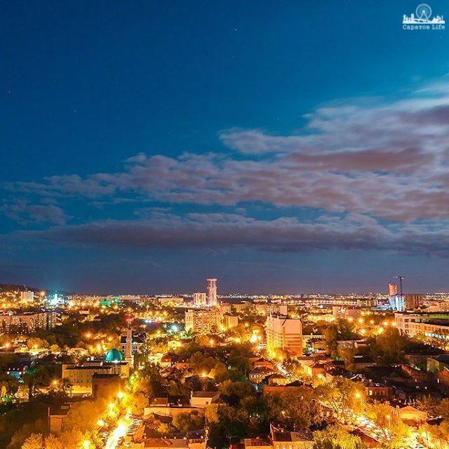 Ночные огни Саратова      #Саратов #СаратовLife