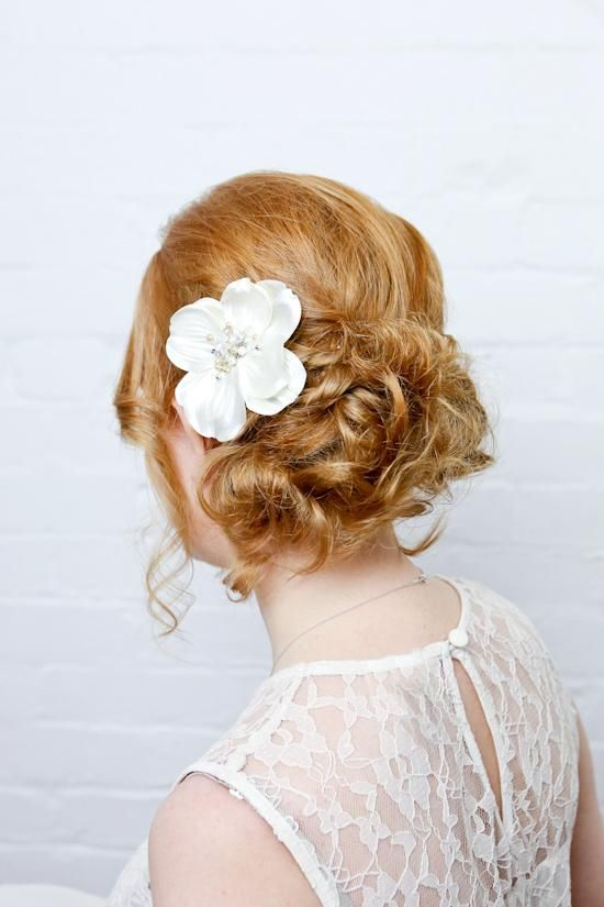 Diy Wedding Hair Tutorial From Kate Petersen Twisted Curls Up Do Many Helpful Tips Will Have To Try Something Similar Maybe A Little Less Messy Looking