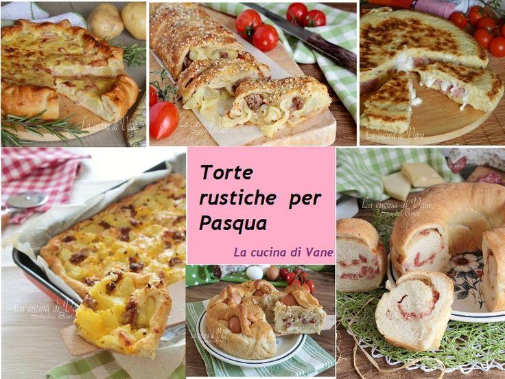 TORTE SALATE per PASQUA le MIGLIORI RICETTE, una top list ricca e gustosa per torte salate da preparare per la colazione pasquale, il pranzo di Pasqua e pasquetta. Torte salate per Pasqua