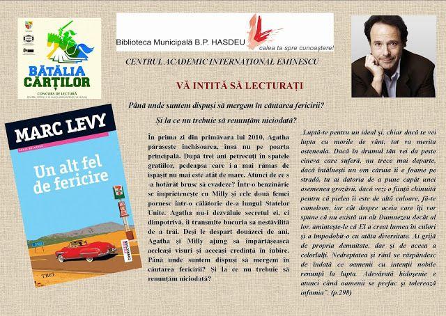 Centrul Academic Internaţional Eminescu: BĂTĂLIA CĂRȚILOR - CONTINUĂ!!!