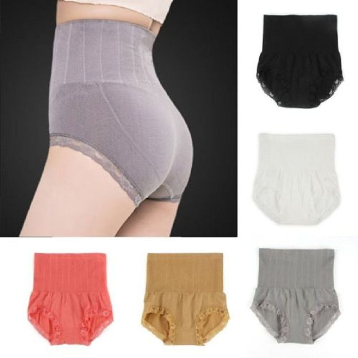 High Waist Briefs Body Shapers Slimming Shapewear Tummy Control Panties Knicker * Find out more by clicking the image
