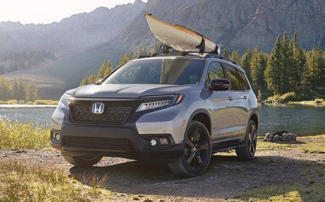 2020 Honda Passport Exterior Colors And Specs With Images Honda Passport Honda Honda Service