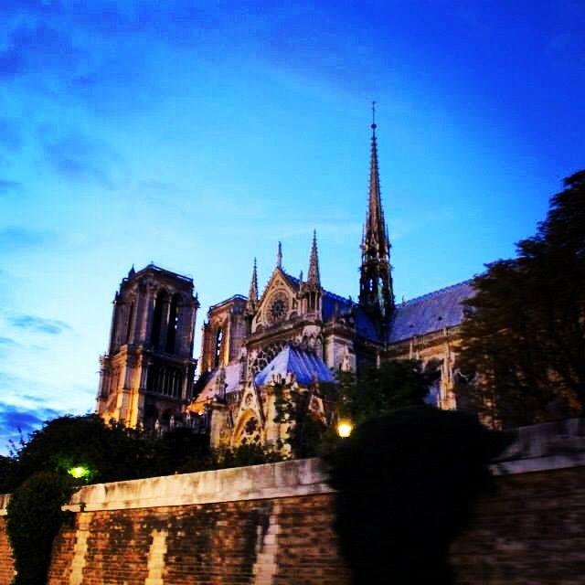 Notre Dame.  Paris