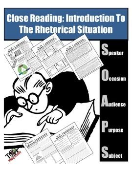 Understanding the original concepts of Rhetoric and the Rhetorical Situation is essential to understanding non-fiction and informational texts. This multi-faceted lesson plan integrates listening skills, reading strategies, and writing skills, as students use the elements of the Rhetorical Situation/Triangle to analyze a variety of different texts.