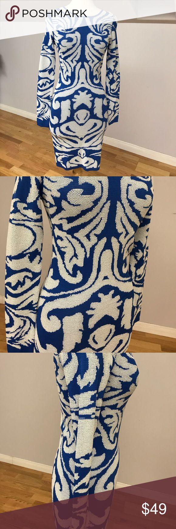 Sheike Australia long sleeve blue dress Brand new with tags sheike Australia dress. Long sleeve midi dress. Beautiful blue color with pretty design sheike Dresses Midi