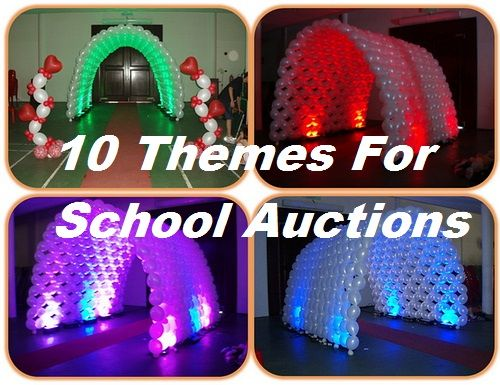 FundraiserHelp.com: 10 School Auction Themes - Lots of good tips in the article.