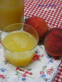 Succo di Frutta Bimby - pesca, albicocca, pera, mela