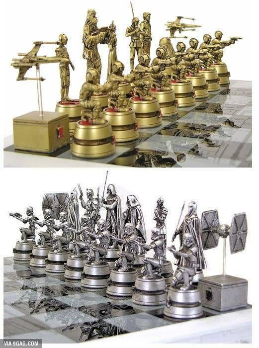 Star Wars Chess Set I Want Stars And Star Wars