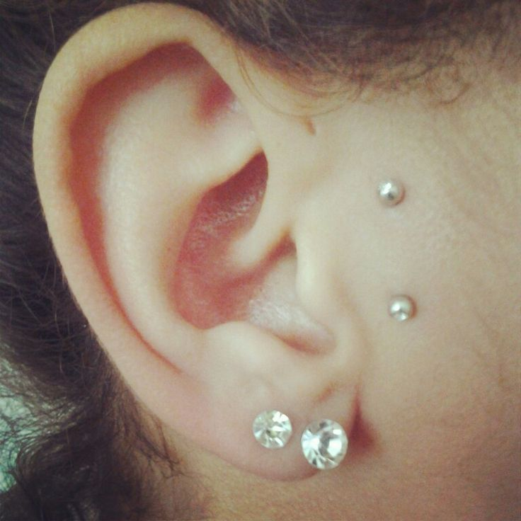Très Surface piercing. Anti-Tragus. | tattoos × piercings. | Pinterest  HK39
