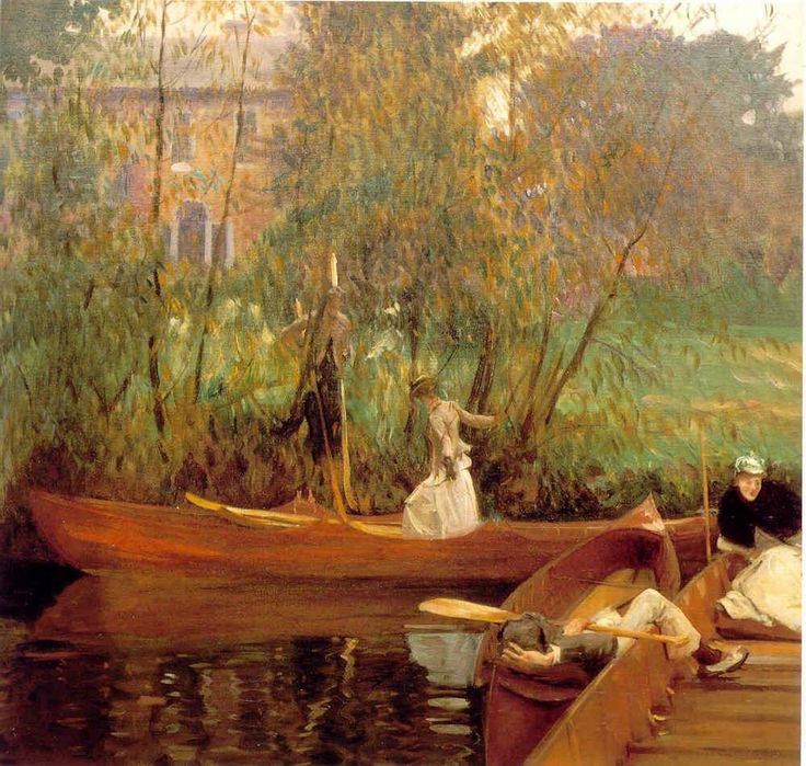 A boating party 1889