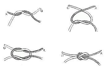 self-locking knot how to - Google Search