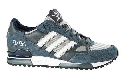 online store 85888 c2f6c ... Zapatillas Adidas Originals ZX 750 Mujer Azul Marino   Blanco   Onix  OscurovnhKKt 1   cool ...