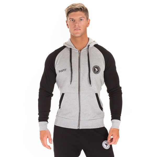 The PHXFIT Men's Premier Zip Hoodie is an essential item for showcasing the physique in and out out of the gym.  Our unique design tapers to the body to highlight the prominent features of the male physique.  Made from a performance blend of cotton and synthetic material, the Premier Zip Hoodie allows for full range of movement in the gym, whilst retaining a high quality sport-lux style.
