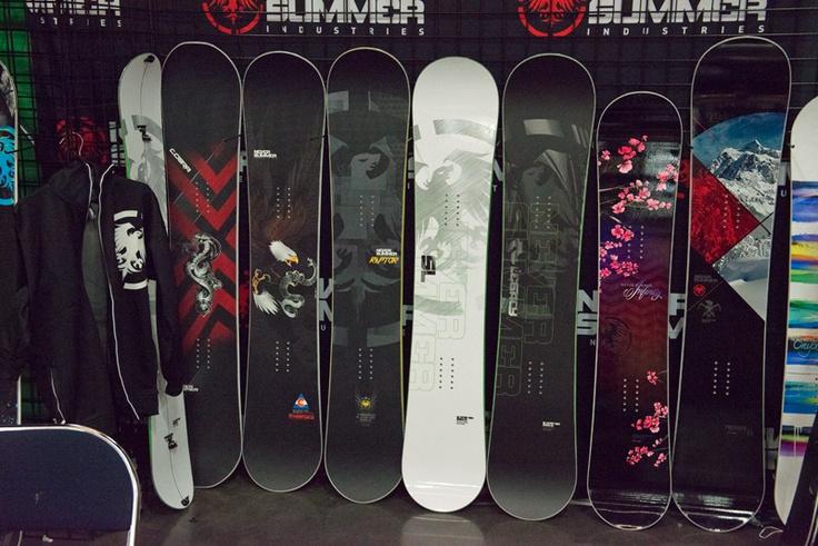 2014 Never Summer Snowboard range