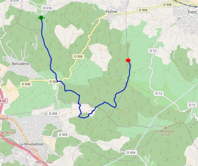 A proximité de #marseille et #aixenprovence, un tracé au dénivelé comparable à celui du 10k Valencia trail #RunValenciaTrails : https://www.forunr.com/result_fr.html?initParam=Aix-en-Provence&refParam=10k-valencia%20trail-2018._237366546 … #trail #10km #course