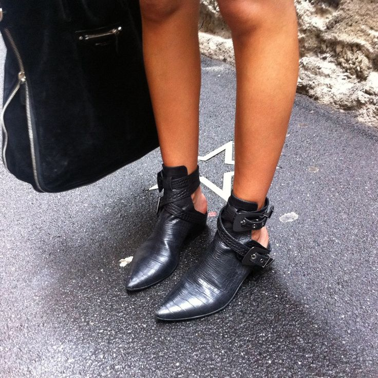 Christine Centenera's Haider Ackermann shoes.