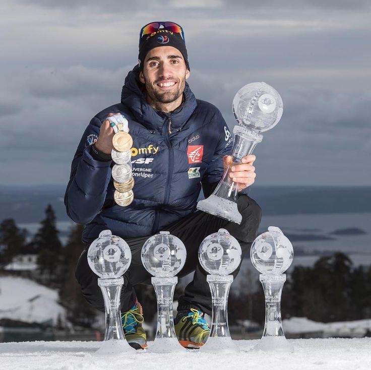 """1,857 mentions J'aime, 8 commentaires - Fédération Française de Ski (@fedfranceski) sur Instagram : """"Quelle saison @martinfourcade On vous laisse faire les comptes @ibu_biathlonworld Nordic Focus"""""""