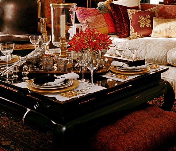 Cupcake Style: Ralph Lauren Home: La Boheme · Black Coffee TablesThe ...