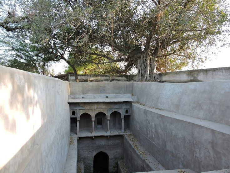 Stepwell, Sawarda, India