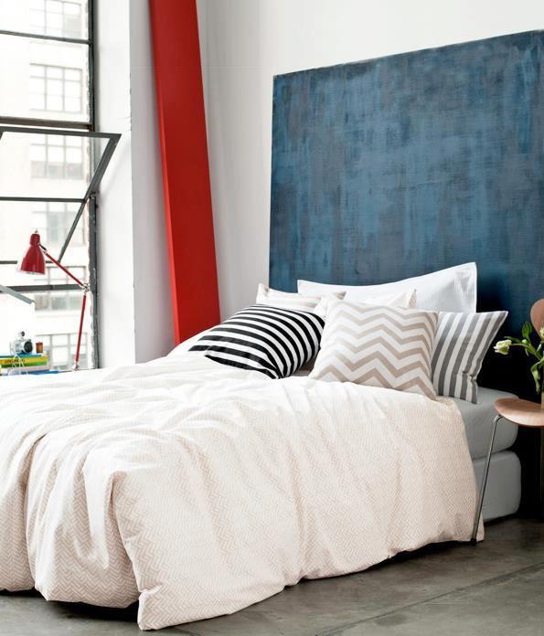Die besten 25+ Chevron schlafzimmer Ideen auf Pinterest Chevron - Bild Schlafzimmer Leinwand