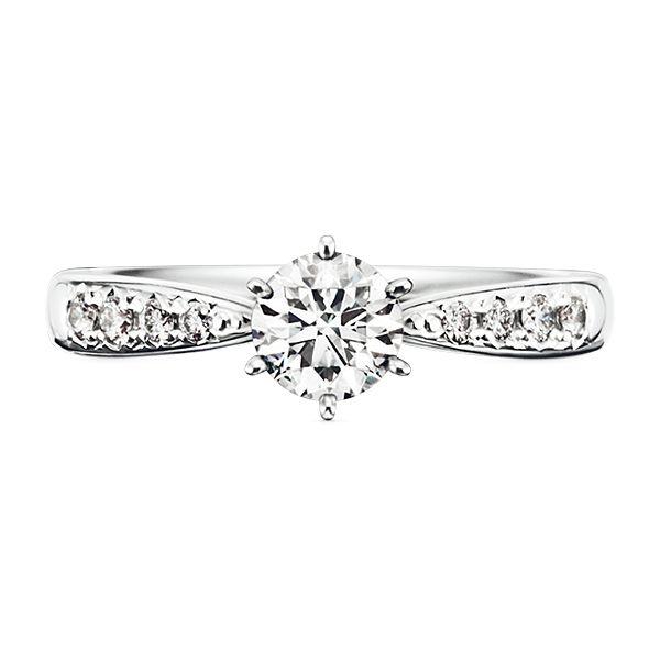 PIACERE Solitaire Pavé ピアチェーレ ソリティア パヴェ - TASAKI(タサキ)の婚約指輪(エンゲージメントリング)