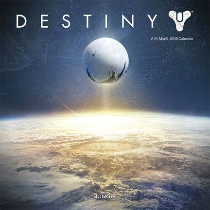 Official Destiny 2016 Calendar available from Publishers at https://www.danilo.com/Shop/Calendars/Gaming-Calendars