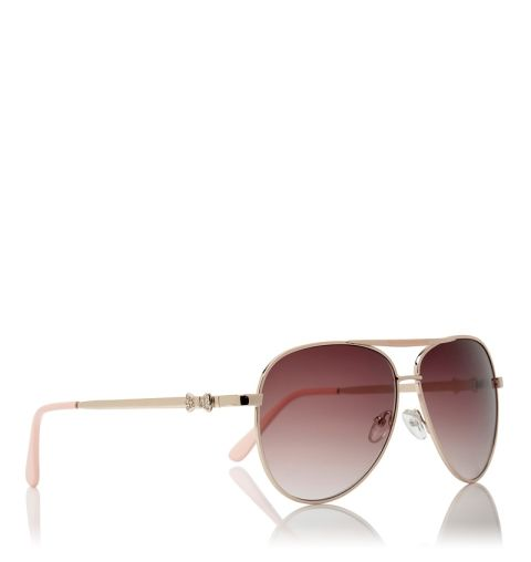 C3 Sylvia Aviator Sunglasses - Forever New