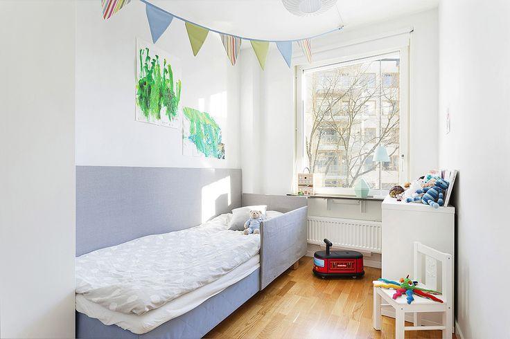 Primusgatan 51, plan 5   Karlsson & Uddare скандинавская детская комната скандинавский интерьер