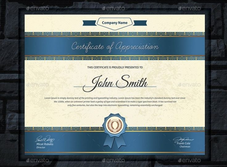 25 unique certificate format ideas on pinterest certificate 20 professional certificate template psd indesign and eps format yadclub Images