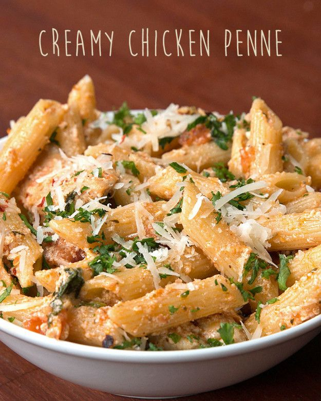 Creamy Chicken Penne | Get Your Life In Order And Make This Creamy Chicken Penne