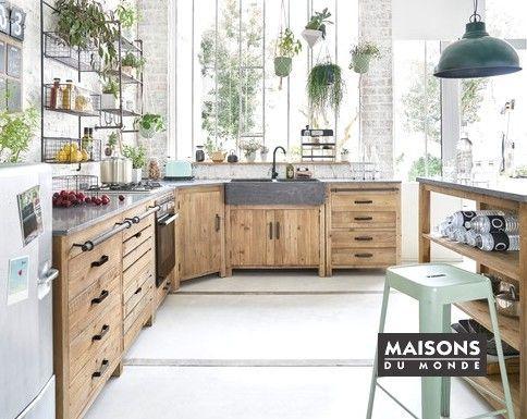 cuisine maison du monde - Google Search  Meuble bas cuisine