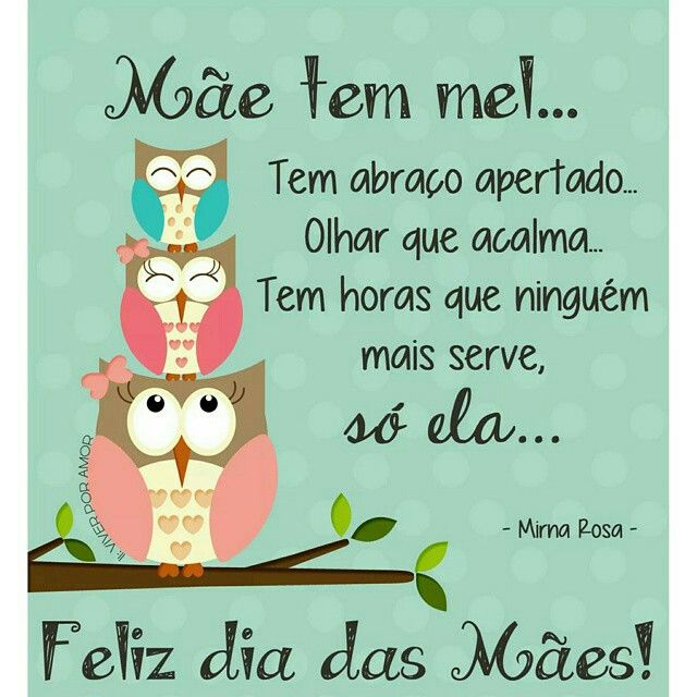 Feliz Dia Das Mães Mother Is Only One Forever In My Heart