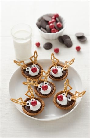These are adorable. My cousins made them last year... and they are yum!: